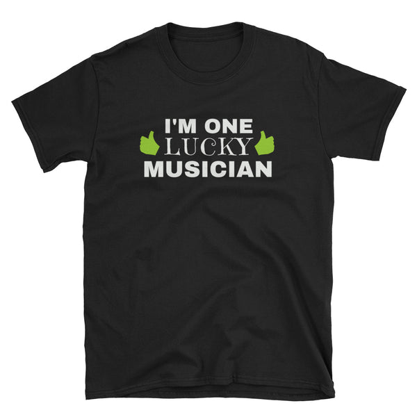 I'm One Lucky Musician St. Patrick's Day T-Shirt - Indie Band Coach
