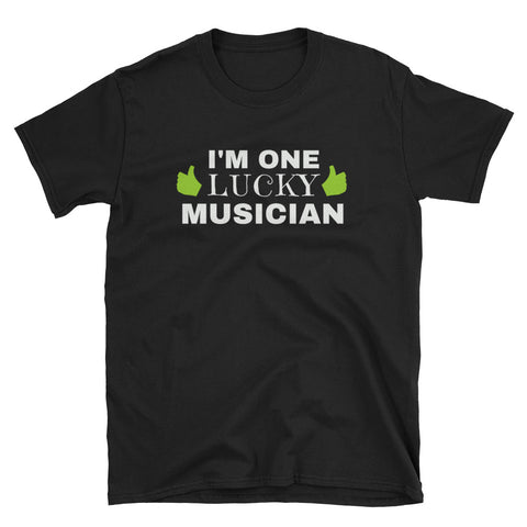 I'm One Lucky Musician St. Patrick's Day T-Shirt