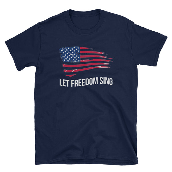 *Let Freedom Sing - Indie Tee - Indie Band Coach