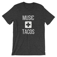 Load image into Gallery viewer, Music + Tacos Tee - Indie Band Coach