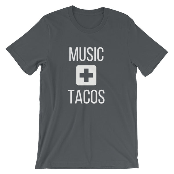 Music + Tacos Tee - Indie Band Coach