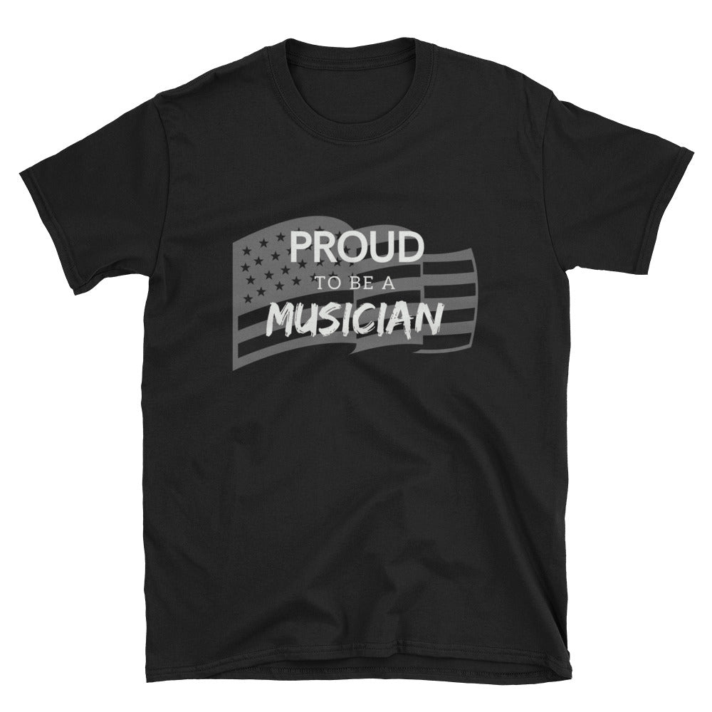 *Proud to Be A Musician - Patriotic Tee - Indie Band Coach