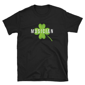 Lucky Musician St Patrick's Day T-Shirt - Indie Band Coach