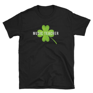 Lucky Music Teacher St Patrick's Day T-Shirt