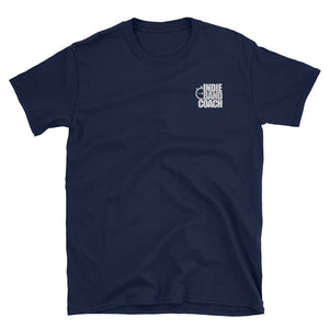 Indie Band Coach (Chest Logo) Gildan Tee - Indie Band Coach