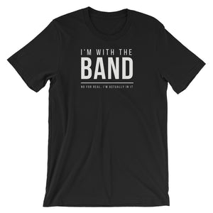 I'm Actually In The Band Tee - Indie Band Coach