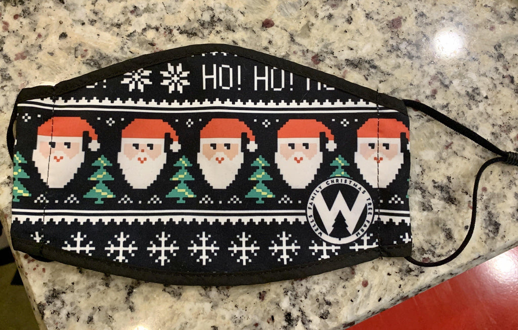 Wells Ugly Sweater Mask