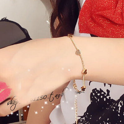 Love Heart Fashion Bracelet