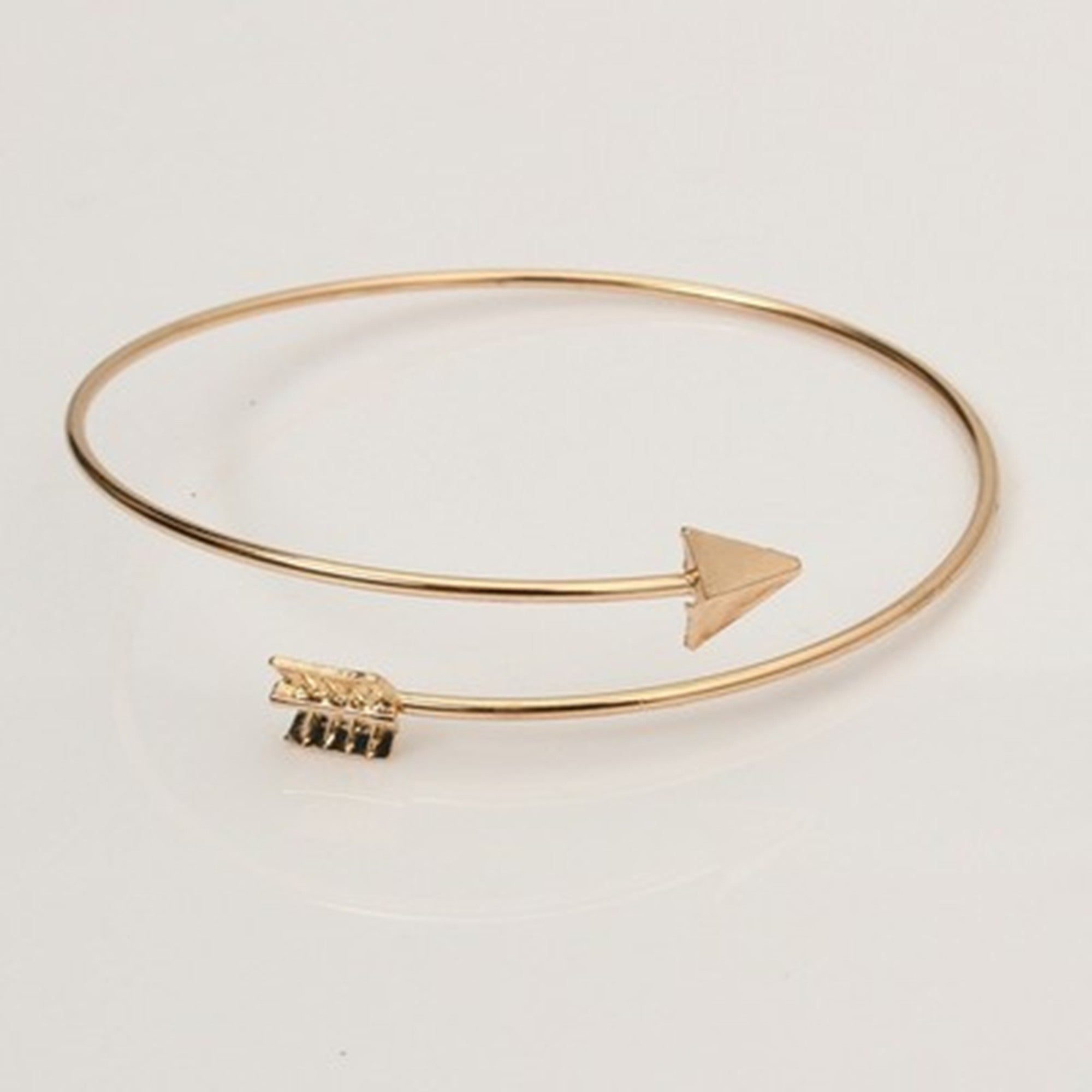 brass products image bracelet bangle arrow