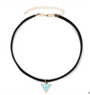 Arrow Pendant Choker Fashion Necklace - Ablaze Wholesale Jewelry