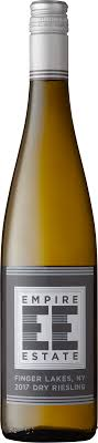Empire Estate Finger Lakes Dry Riesling 2017