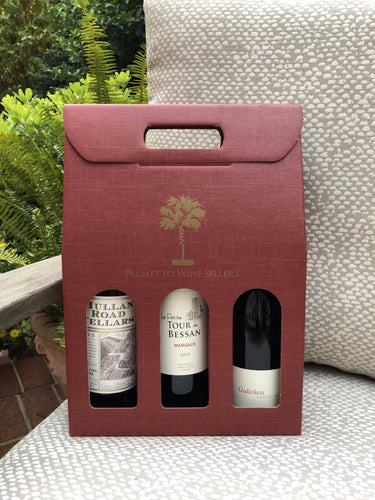 Holiday Gift Box: 3 Bottle Assortment