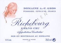 A F Gros Richebourg Grand Cru 2018