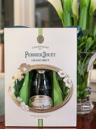 Perrier Jouët Grand Brut Gift Set