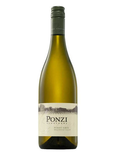 Ponzi Vineyards Pinot Gris 2015 (Willamette Valley)
