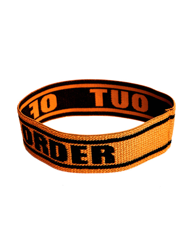 """OUT OF ORDER"" ORANGE SWEATBAND"