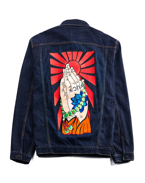 """FUCK"" DENIM JACKET"