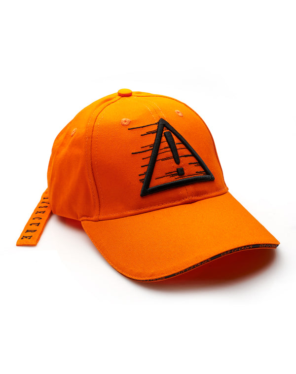 """FRAGILE AND INSECURE"" ORANGE CAP"