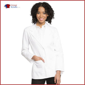 Cherokee Fashion Whites 2317 28 Lab Coat White / 2XL Womens