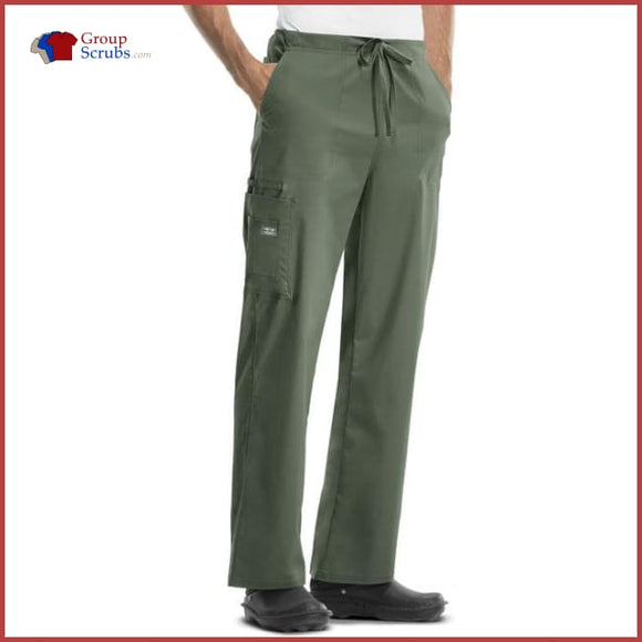 Cherokee Workwear Core Stretch 4043 Unisex Drawstring Cargo Pant Olive / 2Xl