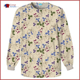Scrub Hq 4350 Snap Front Warm-Up Jacket Clover Park / 2Xl Womens