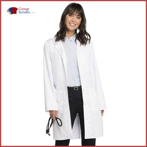 Cherokee Workwear Core Stretch 4403 38 Unisex Lab Coat White / 2XL Unisex