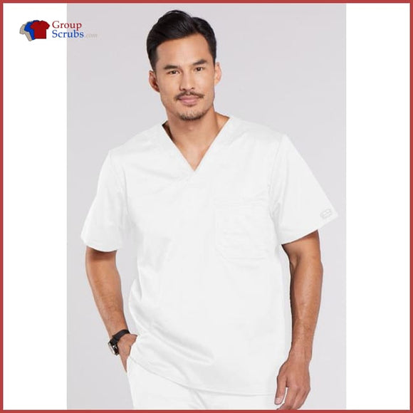 Cherokee Workwear Core Stretch 4743 Men's V-Neck Top
