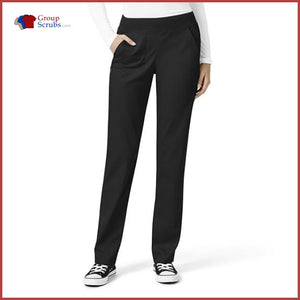 Wonderwink Pro 5419P Knit Waist Cargo Pant Black / 2Xl Womens