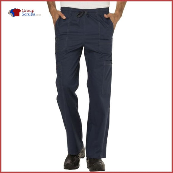Dickies Gen Flex 81003T Mens Drawstring Cargo Pant D-Navy / 2XL Mens