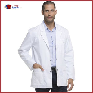 Dickies Gen Flex 81403 31 Mens Snap Front Lab Coat White / 2XL Mens