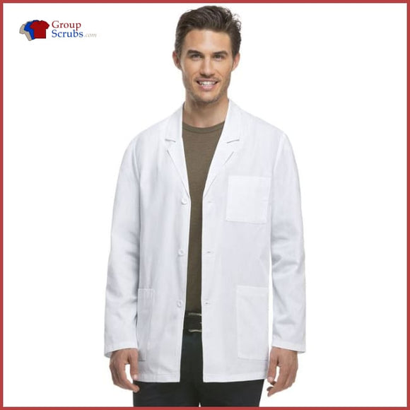 Dickies EDS Professional Whites 81404 31 Mens Consultation Lab Coat White / 2XL Mens