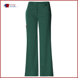 Dickies Xtreme Stretch 82011 Mid Rise Drawstring Cargo Pant Hunter / 3XL Womens