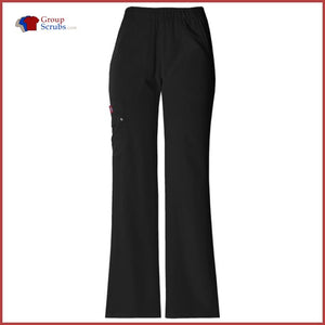 Dickies Xtreme Stretch 82012 Mid Rise Pull-On Cargo Pant Black / XXS Womens