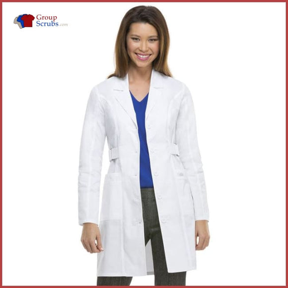Dickies Gen Flex 82410 36 Lab Coat White / 2Xl Womens