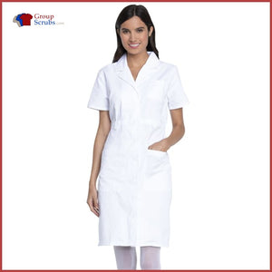 Dickies EDS Professional Whites 84500 Button Front Dress White / 2XL Womens