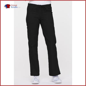 Dickies Eds Signature 85100P Low Rise Drawstring Cargo Pant Black / 2Xl Womens