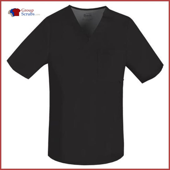 Cherokee Luxe 1929 Mens V-Neck Top Black / 2Xl