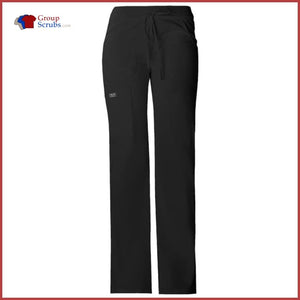 Cherokee Workwear Core Stretch 24001 Low Rise Drawstring Cargo Pant Ciel / Xxs Womens