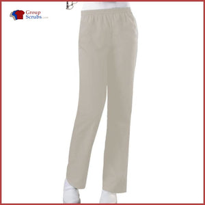 Cherokee Workwear Originals 4001 Natural Rise Tapered Leg Pull-On Pant Khaki / 5Xl Womens