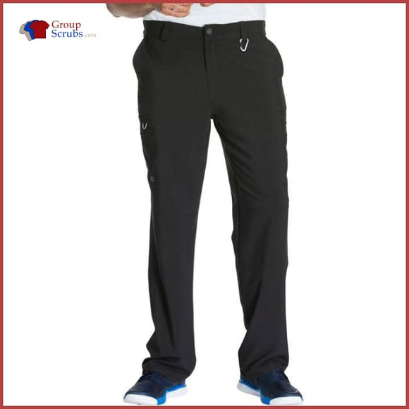 Cherokee Infinity Ck200A Mens Fly Front Pant Black / 2Xl