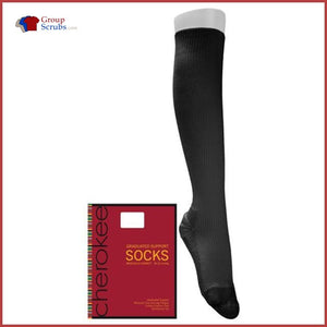 Cherokee Footwear Medisock 18 Mmhg Compression Socks White / A Womens