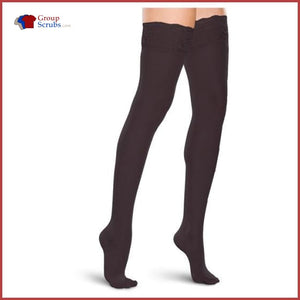 Therafirm TF711 20-30 mmHg Thigh-High Lace-Top Compression Stockings
