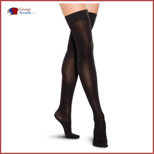 Therafirm TF767 30-40 mmHg Thigh-High Closed-Toe Compression Stockings