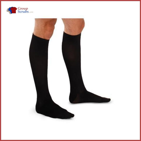 Therafirm TherafirmLight TF904 10-15 mmHg Men's Support Compression Trouser Socks