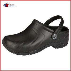 Anywear Zone Injected Clog With Backstrap Footwear Black / 5 Unisex