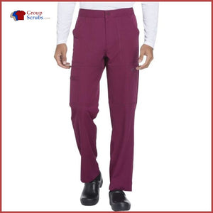 Dickies Dynamix Dk110 Mens Zip Fly Cargo Pant Wine / 3Xl Mens