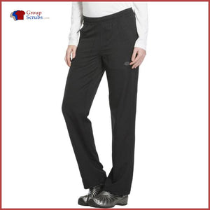 Dickies Dynamix Dk120T Mid Rise Straight Leg Pull-On Pant Womens