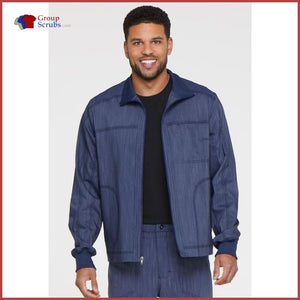 Dickies Advance Dk315 Mens Zip Front Moto Jacket Mens