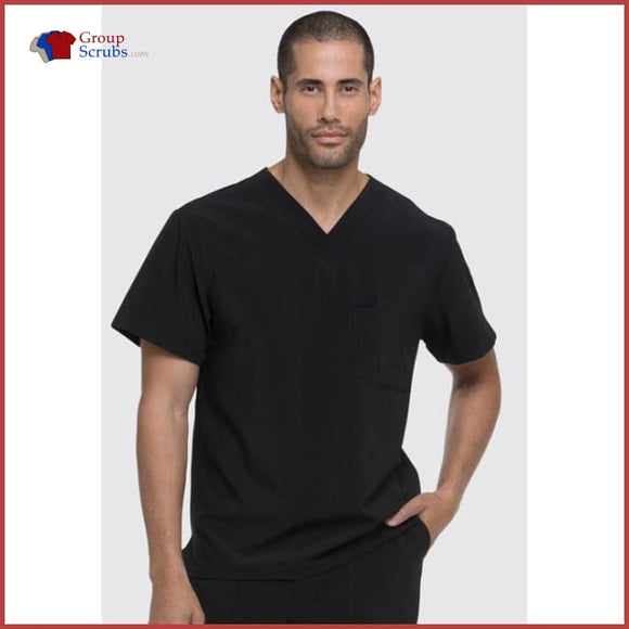 Dickies Eds Essentials Dk635 Mens V-Neck Top Black / 2Xl Mens