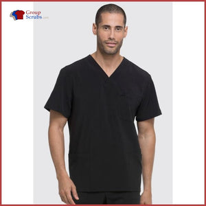Dickies Eds Essentials Dk645 Mens V-Neck Top Black / 2Xl Mens